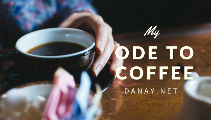 My Ode to Cofee