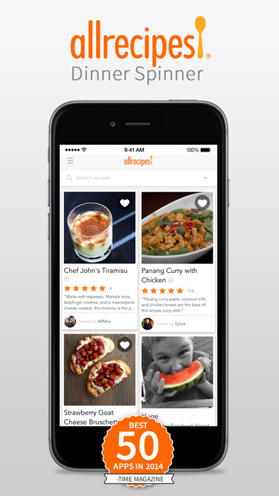 AllRecipes Iphone App