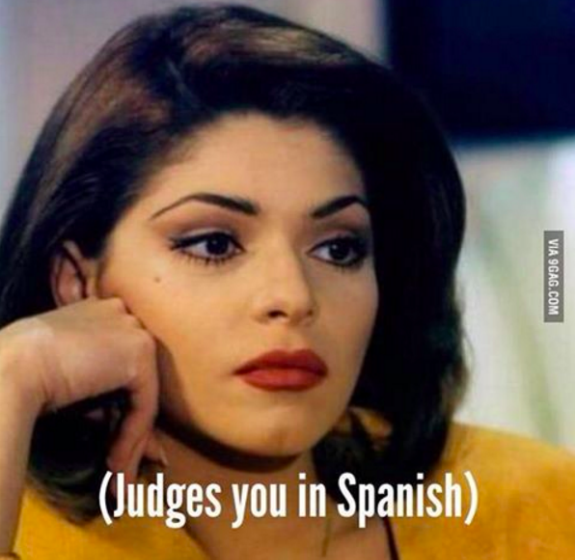 latina meme - judgement