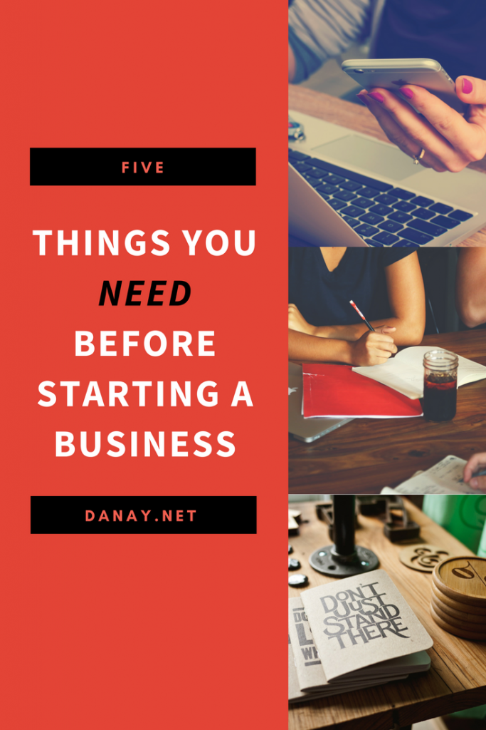 5 Things You Need To Know Before Starting a Business Pinterest