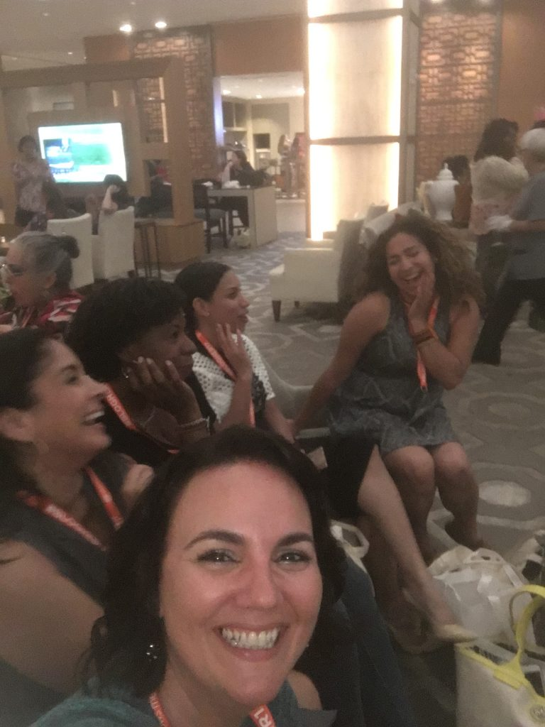 Latina bloggers at BlogHer17