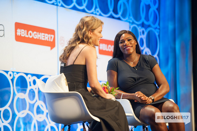 Serena Williams. Photo Credit: BlogHer