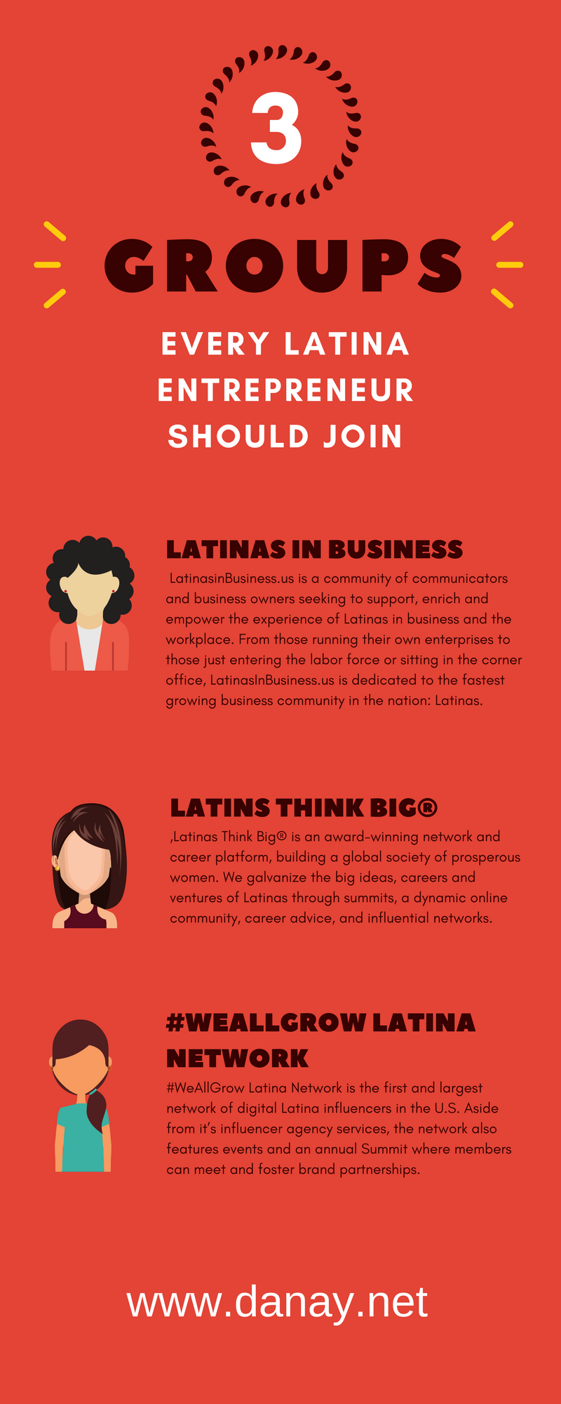 3 Groups Every Latina Entrepreneur Should Join - Pinterest