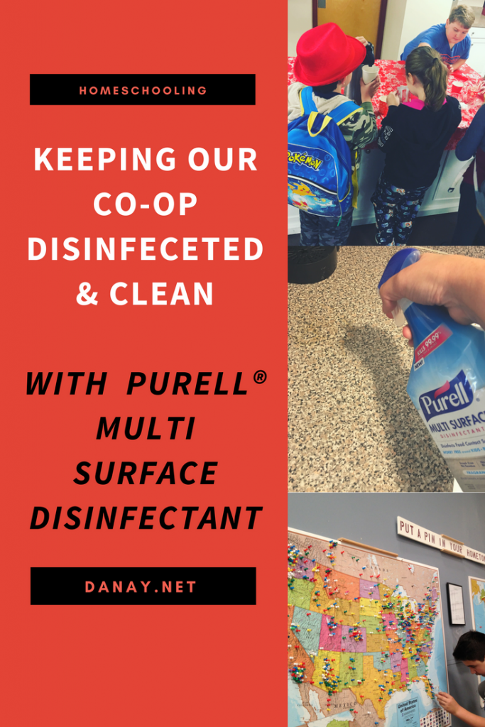 Check out my latest post: Keeping Our Co-Op Disinfected & Clean With PURELL® Multi Surface Disinfectant