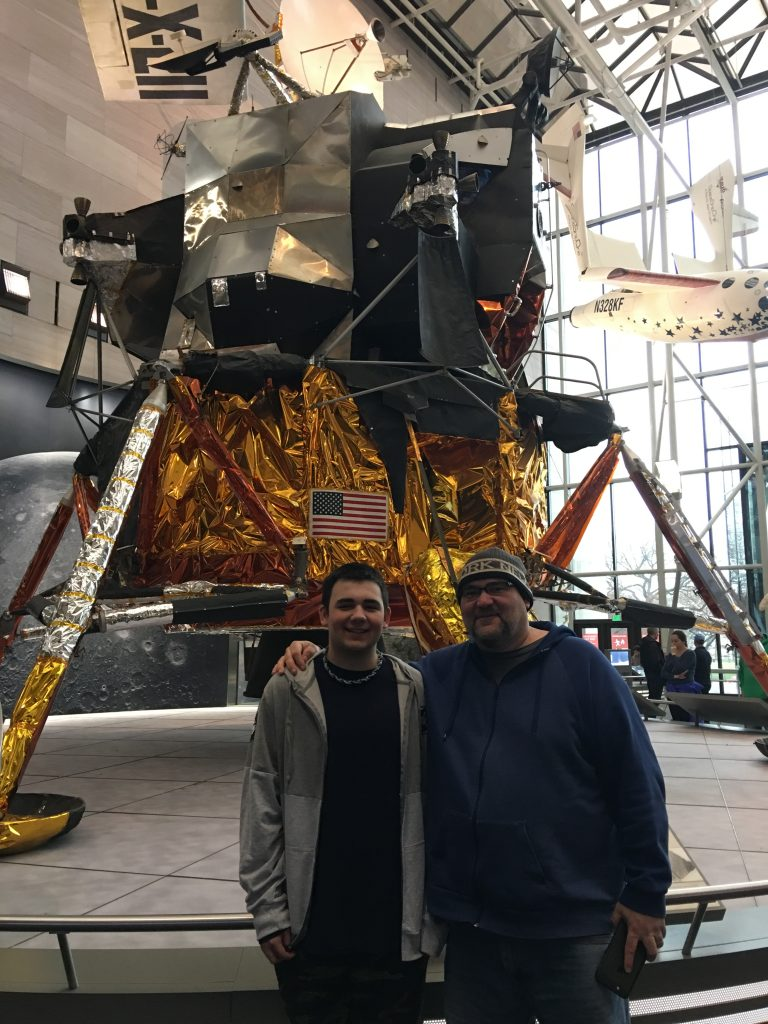 My guys at the Smithsonian Air and Space Museum