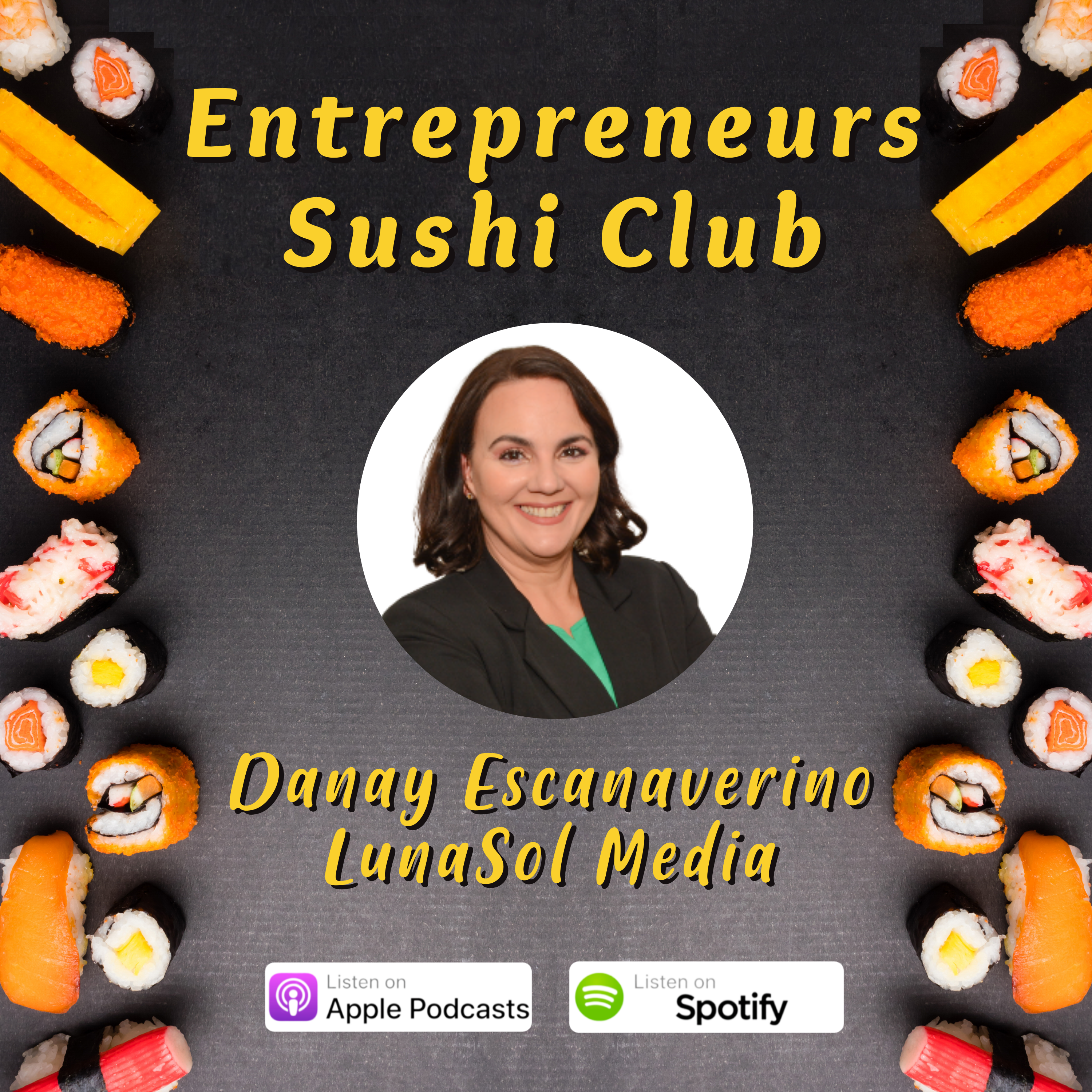 Chatting on the Sushi Entrepreneur Podcast